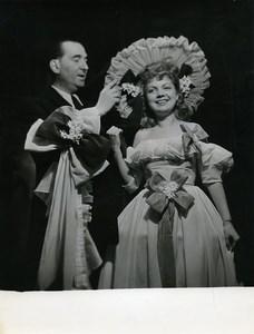 France Paris Henri Fost Ambigu Comique Lost Theater Old Photo Bernand 1960