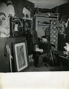 Paris Backstage Props Master Ambigu Comique Lost Theater Old Photo Bernand 1960