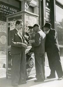 France Paris National Lottery Mutiles des Yeux Old Photo Ergy Landau 1940's