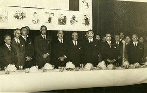 Argentina Buenos Aires Sports Federation Lunch Olympic Games Old Photo 1958