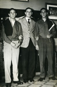 Argentina Santa Fe Fencing young champions Old Photo 1955