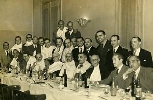 Argentina Buenos Aires Argentinian Caricaturists Chiquin Restaurant Photo 1955
