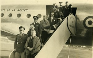 Argentina Buenos Aires Airport General Franklin Lucero Airplane Old Photo 1952