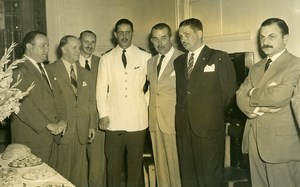 Argentina Buenos Aires Circle of Sports Writers Headquarters Opening Photo 1955