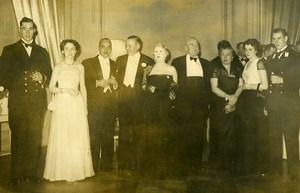 Argentina Buenos Aires Reception of Canadian Ambassador Alvear Palace Photo 1952