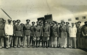 Argentina Santa Fe Airport Army Minister Franklin Lucero Old Photo 1953