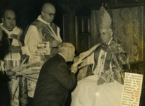 Argentina Buenos Aires Cardinal Archbishop Santiago Copello Easter Photo 1945