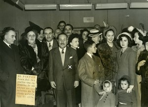 Argentina Buenos Aires Painter Juan Sol Exhibition Gallery Muller Old Photo 1949
