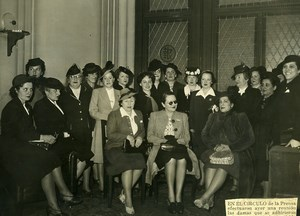 Argentina Buenos Aires Roosevelt Tribute Committee Old Photo 1942