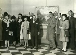 Argentine Buenos Aires Exposition Peintre Juan Sol ancienne Photo 1946
