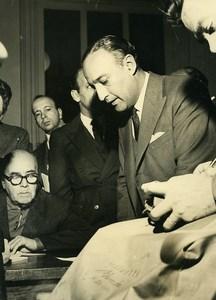 Argentina Buenos Aires Doctor Juan Carlos Taboada Old Photo 1961