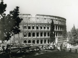 Italy Roma Rome Coliseum Colosseum Old Photo 1961