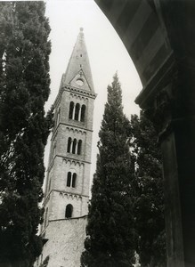 Italy Florence Cathedral Firenze Church Santa Maria del Fiore Old Photo 1961