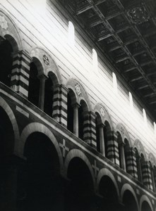 Italy Pisa Pise Duomo Interior Old Photo 1961