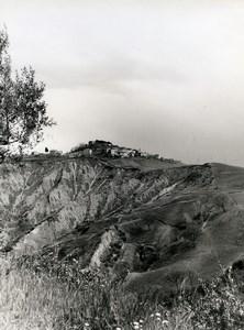 Italy Siena Crete Senesi Old Photo 1961