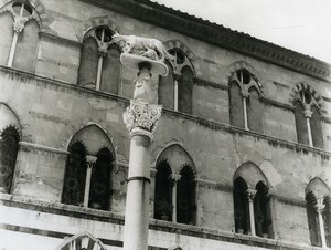 Italy Sienne Siena Duomo Place Old Photo 1961