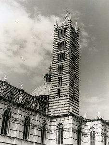 Italy Sienne Duomo di Siena Cathedral Old Photo 1961