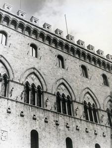 Italy Sienne Siena Palazzo Chigi-Saracini Old Photo 1961