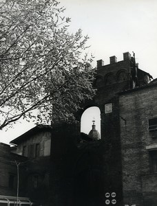 Italy Buonconvento Porta Senese Old Photo 1961