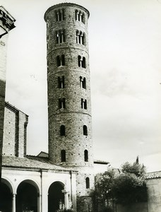 Italy Ravenna Basilica of Sant'Apollinare Nuovo Old Photo 1961