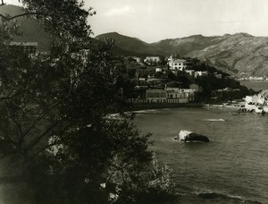 Italy Sicily Lido Mazzaro Old Photo 1961