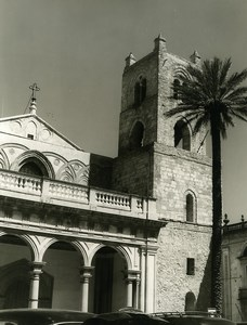 Italy Sicily Monreale Church Old Photo 1961
