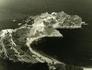 Italy Taormina Cape Mazzaro Old Photo 1961