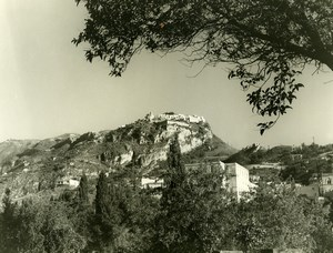 Italy Taormina Castelmola Old Photo 1961