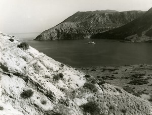 Italy Aeolian Islands Vulcano Island Old Photo 1961