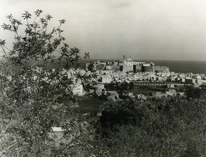 Italy Sicily Lipari panorama Old Photo 1961