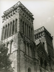 France Caen Abbaye aux Dames Church of Sainte-Trinité Old Photo 1960