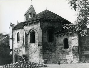 France Laon Templars Chapel Templiers Commandry Old Photo 1960