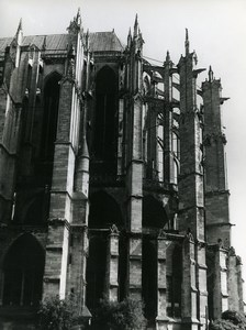 France Beauvais Cathedral Old Photo 1960