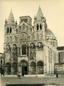 France Angouleme Cathédrale Saint-Pierre Cathedral Old Photo 1960