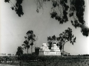 Egypt Nile Delta Pigeon house Old Photo 1960