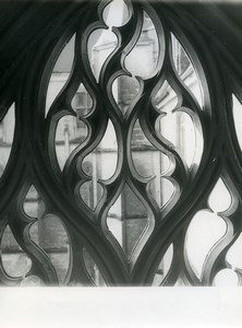 France Window Study Detail Architecture Old Photo 1960