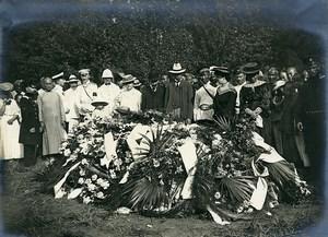 Chine Pékin Beijing enterrement du Consul de Russie Lapseef ancienne Photo 1906