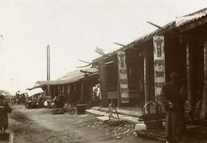 Chine Shanhaiguan une rue animée Magasins ancienne Photo 1906