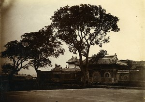 Chine Shanhaiguan Pagode Chen Maen dite Waldersee ancienne Photo 1906