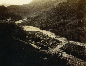 Chine Shanhaiguan sur la route des Grottes et de la Tête du Vieux Dragon ancienne Photo 1906