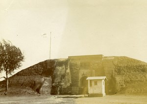 Chine Shanhaiguan Fort Japonais Japanese Fort ancienne Photo 1906