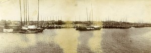 Chine le Port de Tchang Cho ancienne Photo Panorama 1906