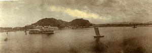 Chine Nankin Nanjing Fort C ancienne Photo Panorama 1906