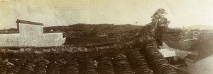 Chine Wuchang Outchang Panorama ancienne Photo 1906