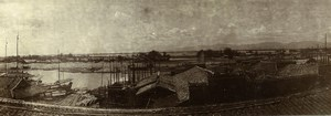 Chine Nanchang Panorama Riviere ancienne Photo 1906