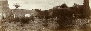 Chine Nanchang les ruines de la Mission Catholique ancienne Photo 1906