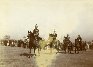 Chine Tianjin Tien-Tsin le Général Japonais Kamio Mitsuomi et son Etat-Major ancienne Photo 1906
