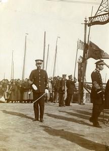 Chine Tianjin Tien-Tsin Japonais instructeurs de l'armée chinoise ancienne Photo 1906