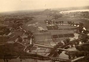 Chine Pékin Beijing le Palais d'Eté vue depuis la pagode Yu Feng ancienne Photo 1906