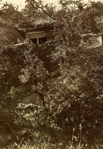 Chine Pékin Beijing Colline de la Fontaine de Jade? Ancienne Photo 1906